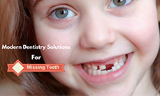 Modern dentistry solutions for missing teeth