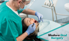 Oral surgery treatments